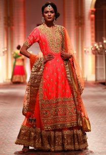 bright-pink-embroidered-kurta-with-lehenga-dupatta