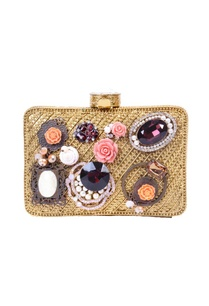 gold-embellished-clutch-with-floral-and-stone