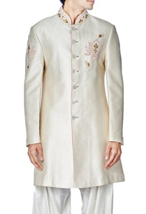 ivory-floral-embroidered-sherwani-set