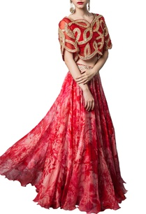 pink-printed-lehenga-with-embroidered-crop-bolero