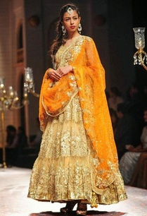 beige-and-orange-embroidered-anarkali-set