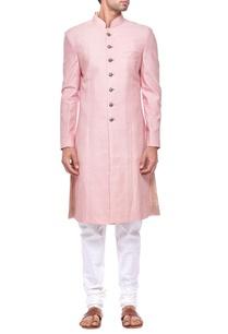light-pink-silk-sherwani