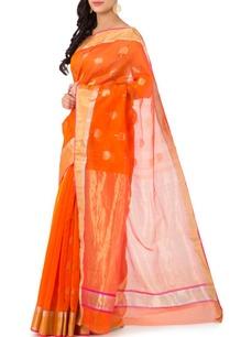 orange-motif-chanderi-sari
