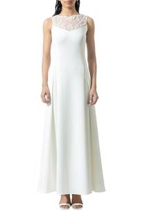 ivory-bead-embellished-dress