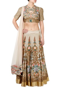 off-white-floral-embroidered-lehenga-set