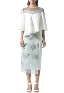 ivory-pencil-skirt-with-textured-overlayer