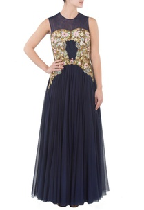 navy-blue-floral-embroidered-gown