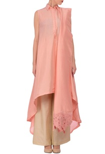 rose-pink-draped-tunic-with-cream-palazzos