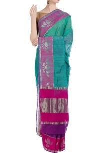 banarasi-silk-woven-saree-with-unstitched-blouse