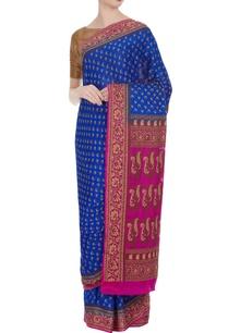 khadi-pure-georgette-saree-unstitched-blouse