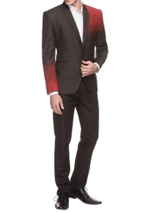 black-red-ombre-jacket-with-trousers