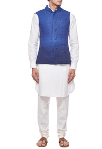 deep-blue-ombre-nehru-jacket