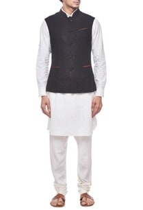 black-nehru-jacket