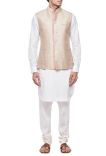 light-beige-nehru-jacket
