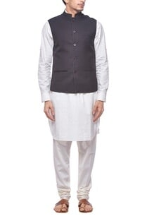 black-nehru-jacket-with-stitch-detailing
