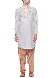 ivory-embroidered-kurta
