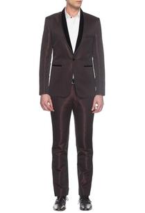 maroon-textured-tuxedo