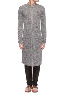 grey-textured-kurta