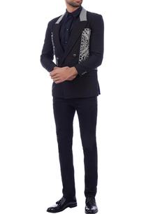 black-linen-double-breasted-blazer