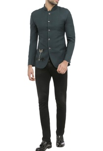 midnight-green-suiting-fabric-embroidered-jacket