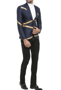 navy-blue-suiting-fabric-zigzag-print-jacket