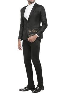 black-suiting-fabric-worli-print-jacket