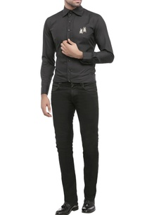 black-shirting-fabric-embroidered-shirt