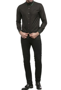 black-shirting-fabric-solid-shirt