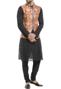 multicolored-paisley-nehru-jacket
