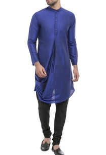 purple-draped-style-kurta