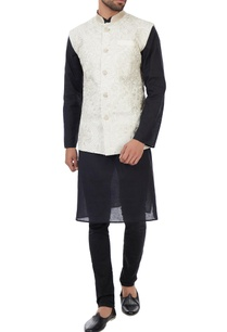 off-white-hand-bead-embroidered-organic-silk-nehru-jacket