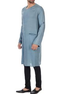 sky-blue-naturally-dyed-wrap-style-milk-fiber-kurta