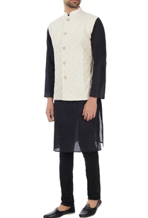 off-white-hand-embroidered-organic-silk-nehru-jacket
