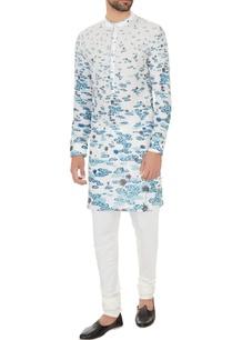 white-cotton-printed-kurta-with-off-white-cotton-lycra-churidar