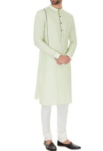mint-green-cotton-solid-kurta-with-off-white-cotton-lyra-churidar