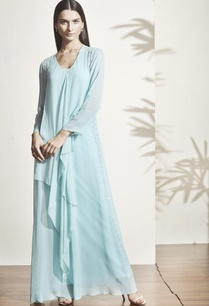 mint-blue-multi-layer-gown