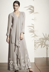 grey-gown-with-draped-detail
