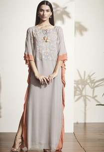 grey-floral-embroidered-kaftan