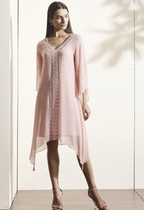 light-pink-embroidered-kaftan