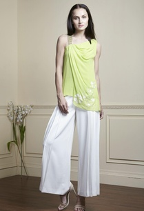 lime-green-draped-style-blouse