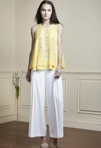yellow-thread-embroidered-sleeveless-top