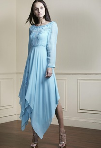 sky-blue-asymmetric-tunic