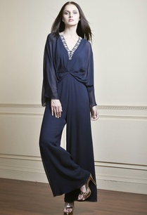 navy-blue-gathered-waist-jumpsuit