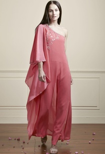 rose-pink-one-shoulder-kaftan
