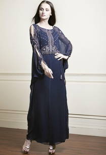 navy-blue-embellished-kaftan