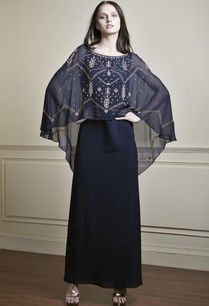 navy-blue-layered-style-gown