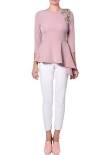 pink-embroidered-peplum-blouse