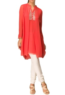 red-embellished-tunic