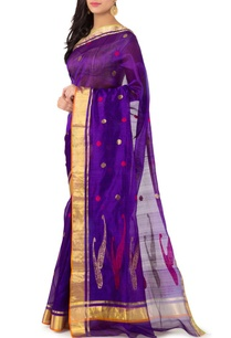 purple-polka-chanderi-sari