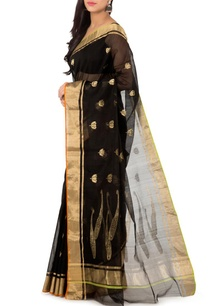 black-lotus-chanderi-sari